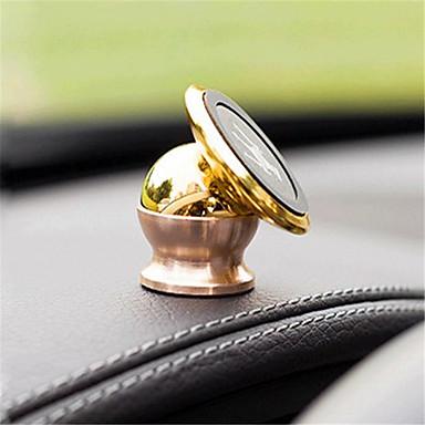 Carro GPS de navegação do telefone móvel celular ímã suporte logotipo stent mini mini liga de stent