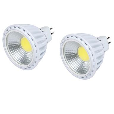 GU5.3(MR16) Lâmpadas de Foco de LED MR16 1 leds COB Decorativa Branco Quente Branco Frio 450lm 3000/6000K DC 12V