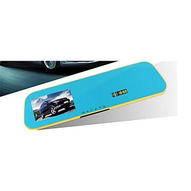 480p 848 x 480 HD 1280 x 720 Full HD 1920 x 1080 DVR para Carro 4.3 Polegadas Tela Câmera Automotiva