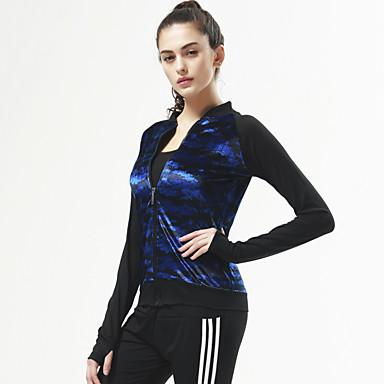 Connie Yoga Træningsdragt Toppe Bekvem Elastisk Sportstøj Yoga Pilates Træning & Fitness Fritidssport Løb Dame