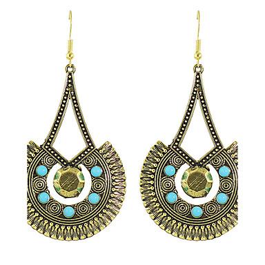 Modieus Bohemia Style Legering Cirkelvorm Goud Zilver Sieraden Voor Feest Dagelijks Causaal 1 paar