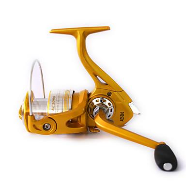 Spinne-hjul 5:2:1 13 Kuglelejer ombyttelig Generel Fiskeri-AE1000 YUDIZI®