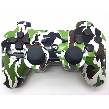 Sin Cable Controladores de juego Para Sony PS3 ,  Bluetooth / Empuñadura de Juego / Recargable Controladores de juego ABS 1 pcs unidad