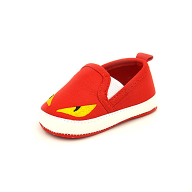 Uniseks Baby Schoenen Canvas Lente Herfst Mary Hane Platte schoenen Voor Causaal Donkerblauw Rood Lichtblauw