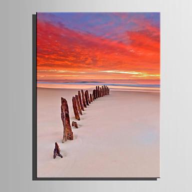 Canvas Set Landschap Europese Stijl,Eén paneel Canvas Verticaal Print Art wall Decor For Huisdecoratie