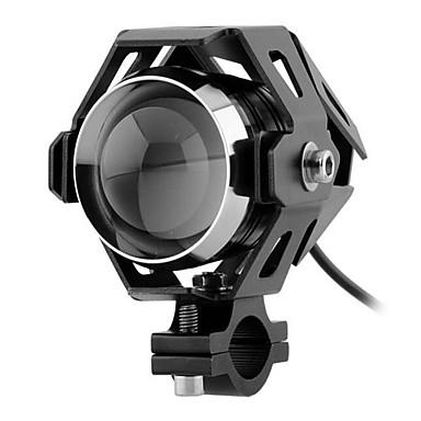 transformadores U5 30w do laser canhão motocicleta conversão farol levou holofotes luzes de alta potência de nevoeiro com strobe