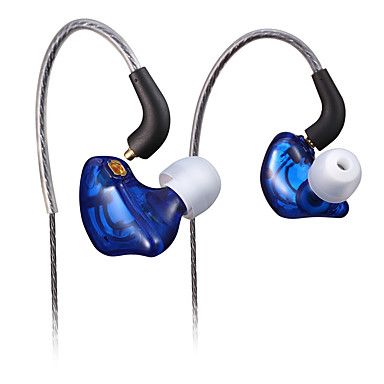 3.14 In Ear Ear Hook Wired Headphones Dynamic Plastic Sport & Fitness Earphone Noise-isolating HIFI Headset