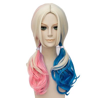 Synthetische Haare Perücken Kappenlos Halloween Perücke Party-Perücke Capless Perücken Blond