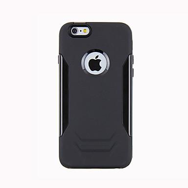 Varten iPhone 6 kotelo iPhone 6 Plus kotelo kotelot kuoret Iskunkestävä Takakuori Etui Panssari Kova Metalli varteniPhone 6s Plus iPhone