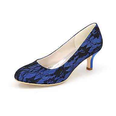 Soirée 05259312 Soie Mariage Eté Chaussures Chaussures Femme Aiguille amp; à Ivoire Talons Evénement Rose Talon Printemps Bleu 15qO7twxa7