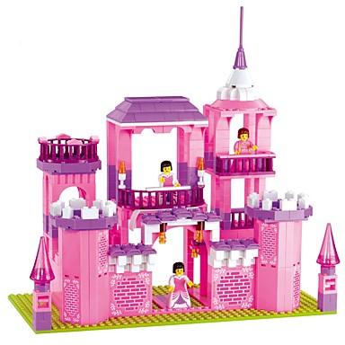 WOMA Bausteine 1035pcs Burg / Haus / Pferd Neuartige Mädchen Geschenk