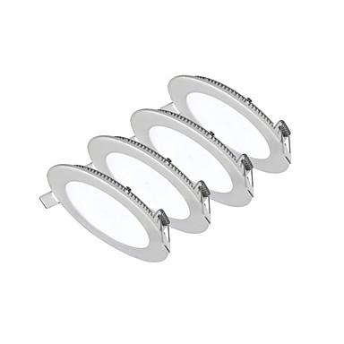 18W Instrumententafel-Leuchten 90pcs SMD 2835 1550-1700lm lm Warmes Weiß / Kühles Weiß / Natürliches Weiß Dekorativ AC 85-265 V 4 Stück