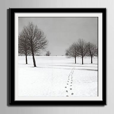 Ingelijst canvas Ingelijste set Landschap Muurkunst, PVC Materiaal Met frame Huisdecoratie Ingelijste kunst Woonkamer Slaapkamer Keuken