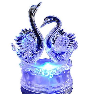 1 pieza Luz de noche LED Batería Decorativa 5 V