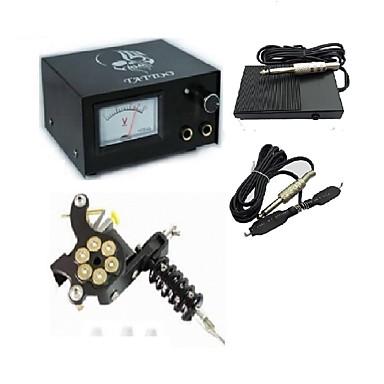 Analog Tattoo Machine Power Supply Digital Professional Power Clip
