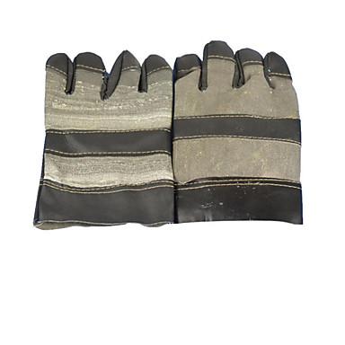 luvas de protecção de alta temperatura resistência soldador de solda 2 pares embalados para venda