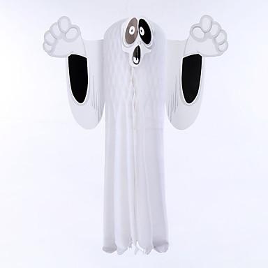1pc halloween pub spook hangen papier decoratie ghost lantaarn