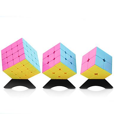 Rubiks kube YONG JUN 2*2 4*4*4 3*3*3 Glatt Hastighetskube Magiske kuber Kubisk Puslespill profesjonelt nivå Hastighet Gave Klassisk &