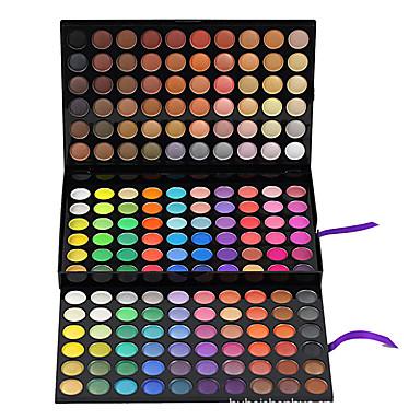 180 colores Sombras de Ojos / Iluminadores y Bronceadores / Marcadores Ojo Natural Gloss colorido Maquillaje de Diario Maquillaje Cosmético / Mate / Brillo