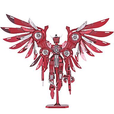 P069 3D-puslespill / Puslespill / Metallpuslespill 4pcs Robot Møbler artikler / GDS / Originale Gutt Gave