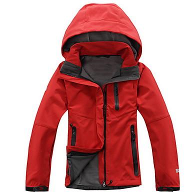 Dames Softshell wandeljack waterdicht Houd Warm Winddicht Draagbaar Ademend Softshell jacks voor Kamperen&Wandelen Lente Zomer Winter