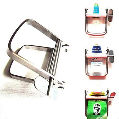 aço pigmento espremedor de pasta de dente espremedor de tubo e esmalte corantes de cabelo rolo de barbeiro pintura a óleo imprensa