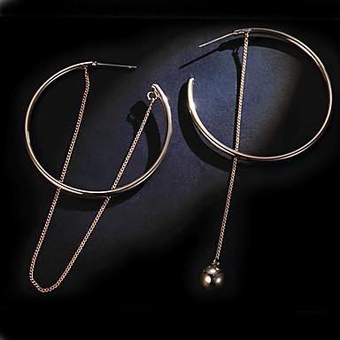 Naisten Pisarakorvakorut Korvarenkaat Dangle korvakorut Korut Kultainen Metalliseos Korut Häät Party Päivittäin Kausaliteetti