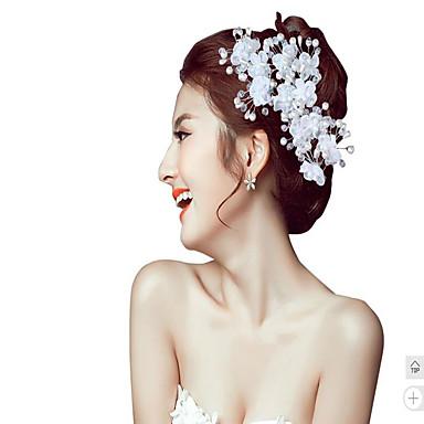 helmi kukat headpiece hääjuhlissa tyylikäs klassinen naisellinen tyyli