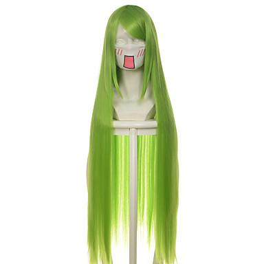 人工毛ウィッグ / コスチュームウィッグ ストレート 合成 かつら 女性用 ロング / 非常に長いです キャップレス