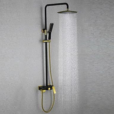 dusjbatteri antikke regndusj hånddusj inkludert