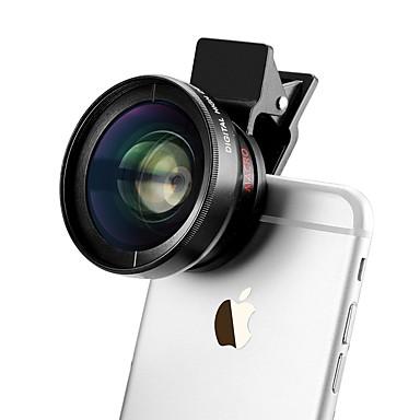 37mm 0.45x Weitwinkel-Clip iphone Linse für iphone / Android-Smartphone-Kamera