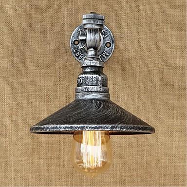 電球includedambient光壁燭台壁ライト銀用のAC 220V-240Vの40ワットE27 bg146素朴/ロッジペインティング機能