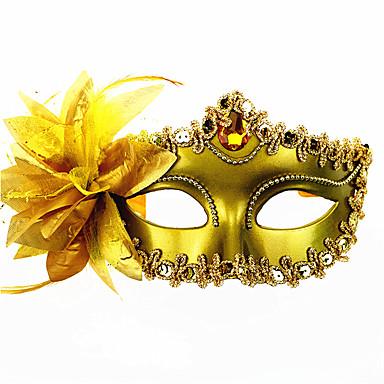 1pc de prinses partij masker voor Halloween kostuum partij willekeurige kleur
