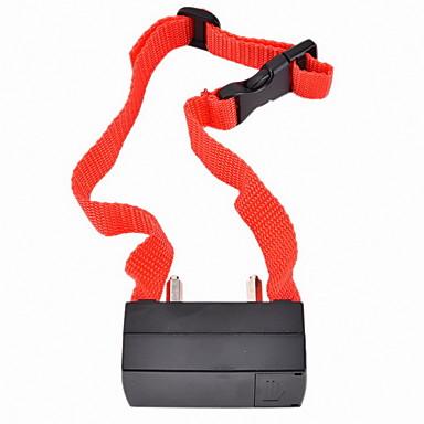 Dog Bark Collar Anti Bark Electronic/Electric Shock/Vibration Solid Nylon Red
