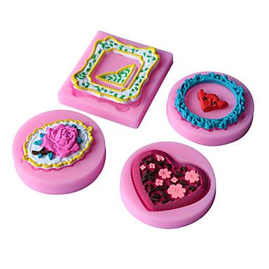 1 Bakken Anti-aanbak / Milieuvriendelijk / Doe-het-zelf / Baking Tool / 3D / Hoge kwaliteitCupcake / Taart / Pizza / Chocolade / Ijs /