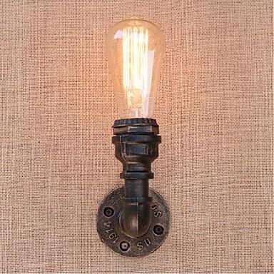 Rustiikki Seinävalaisimet Metalli Wall Light 110-120V / 220-240V 40W / E27