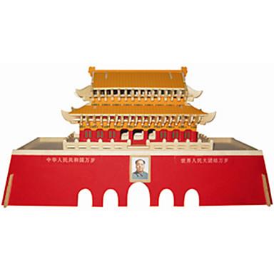 Palapelit Puiset palapelit Rakennuspalikoita DIY lelut kiinalainen arkkitehtuuri 1 Puu Kristalli