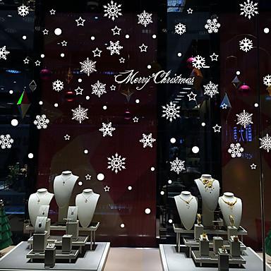 Autocolantes de Parede Decorativos - Autocolantes de Aviões para Parede / Autocolantes de Parede Espelho Romance / Natal / Feriado Lojas