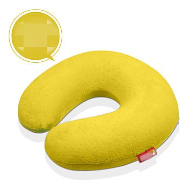 Matkatyyny U:n muotoinen Lepääminen matkalla varten U:n muotoinen Lepääminen matkalla Keltainen Kahvi Vihreä Sininen Pinkki
