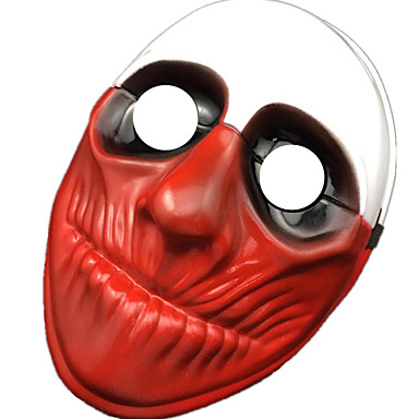 voordelige Maskers voor de feestdagen-Halloweenmaskers Carnavalsmaskers Muovi PVC Clown Filmpersonage Horrorthema Volwassenen