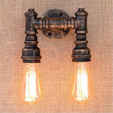 Rustikk / Hytte Vegglamper Metall Vegglampe 110-120V / 220-240V 40W / E27