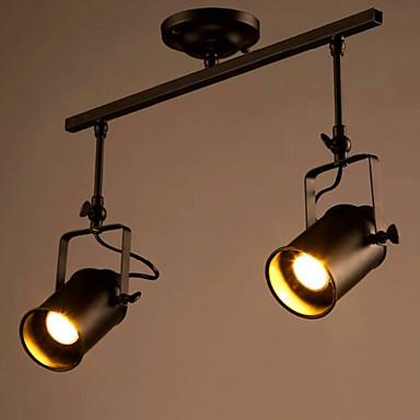 Rustiek/landelijk Vintage Retro LED ontwerpers Op plafond bevestigd Neerwaartse Belichting Voor Woonkamer Slaapkamer Eetkamer