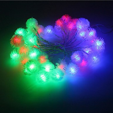 20 led 2.5mスター光防水プラグ屋外休日の装飾ライトled文字列ライト