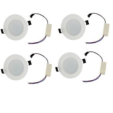 LED-neerstralers Warm wit / Koel wit LED 4 stuks