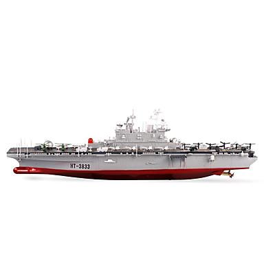 Barco de Guerra HT HengTai® HT-3833 1:350 RC Boat Electrico Não Escovado 2ch 2.4G