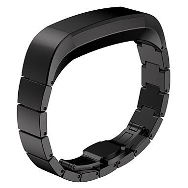 Pulseiras de Relógio para Fitbit Alta Fitbit Pulseira Esportiva Aço Inoxidável Tira de Pulso