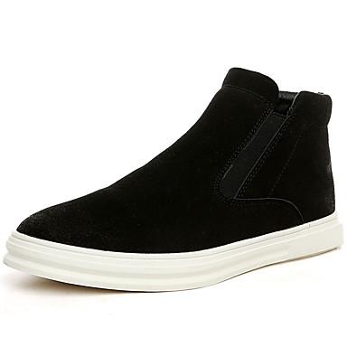 Heren Schoenen PU Winter Lente Zomer Herfst Comfortabel Sneakers voor Causaal Zwart
