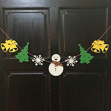 2 m lang Kerstdecoratie geschenken ring riet klokken hangen handelen de rol ofing kerstboom ornamenten kerst cadeau