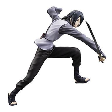 Anime Action Figurer Inspirert av Naruto Itachi Uchiha 20 CM Modell Leker Dukke