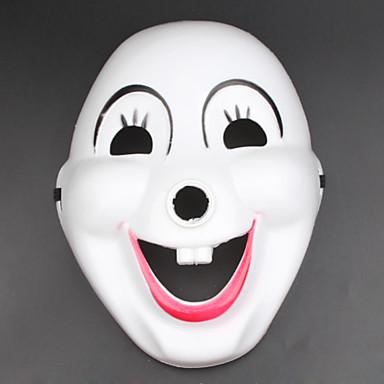 (Patroon is willekeurig) 1pc Halloween kostuum partij masker teen box ornamenten